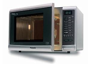 Panasonic Nna724m Metallic Silver Combination Microwave