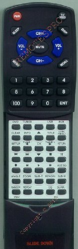 RCA Replacement Remote Control for 272041, 274409, RCR192AA1, RCR192AD1, RDT206 Picture