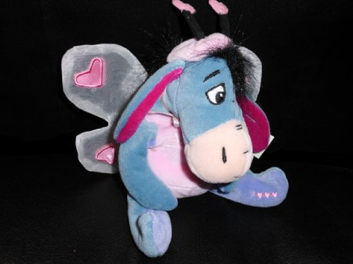 Disney Bean Bag Plush Eeyore Lovebug - 1