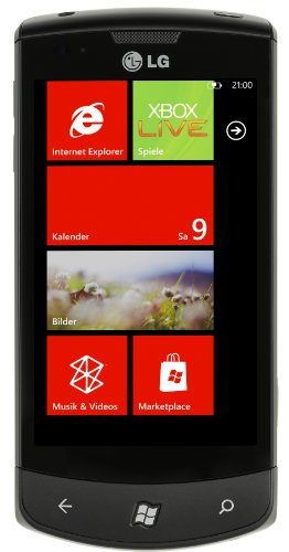 LG E900 Optimus 7 Smartphone (Vodafone Branding, Windows Phone 7)