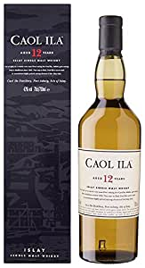 Caol Ila 12 Year Old Whisky 70 cl