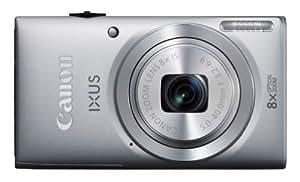 """Canon Ixus 132 Appareil photo numérique compact 16 Mpix écran 2,7"""" Zoom optique 8x Argent"""