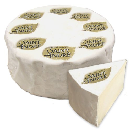 Saint Andre - Triple Cream Soft-Ripened Cheese - Approx. 4Lb-Wheel
