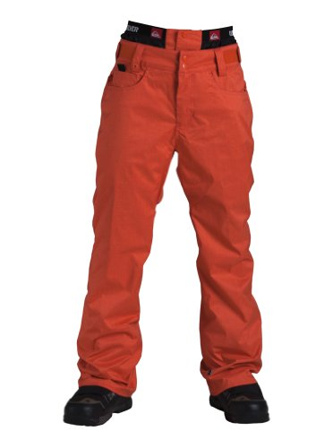 Quiksilver Herren Snow Pants High Line SHL, orange, L, KPMSP124-ORG-L