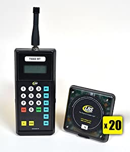 how to set pager to loud