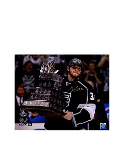 Steiner Sports Memorabilia Jonathan Quick Signed Conn Smyth Trophy Photo