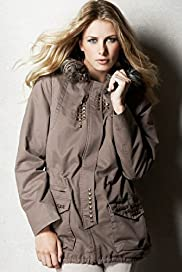 Limited Collection Faux Fur Stud Parka