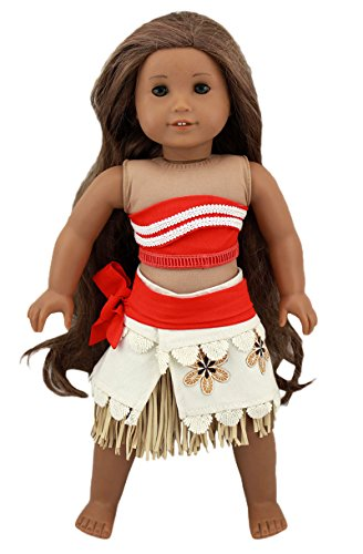 Moana Doll Costume