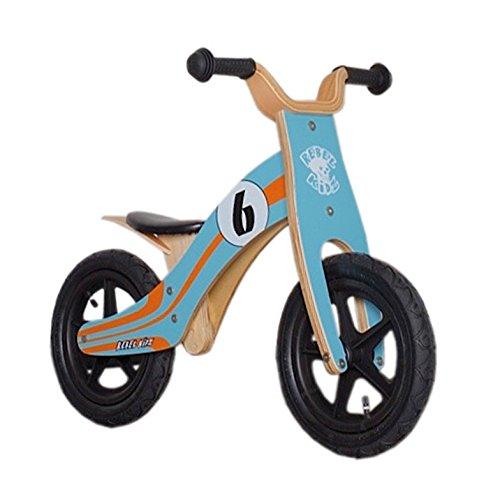 Bici aprendizaje Rebel Kidz Wood Air madera, 12