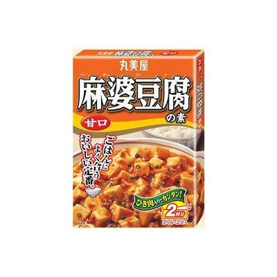 丸美屋 麻婆豆腐の素 甘口 162g