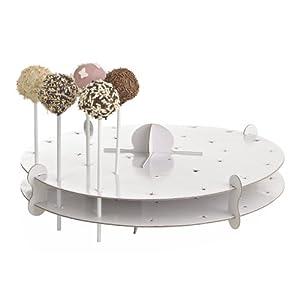 Cake Pop Decorating Ideas Uk : Lakeland Cake Pop Decorating Cardboard Stand Holds 32 Cake ...