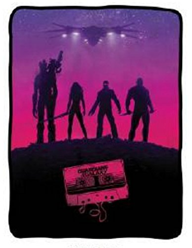 Guardians of the Galaxy Awesome Mix Fleece Throw Blanket - 1