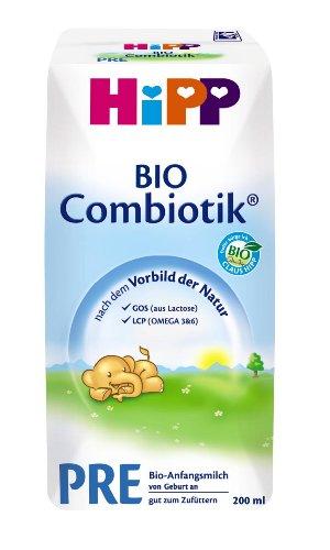 Hipp PRE BIO Combiotik trinkfertig, 12er Pack (12 x 200 ml) - Bio