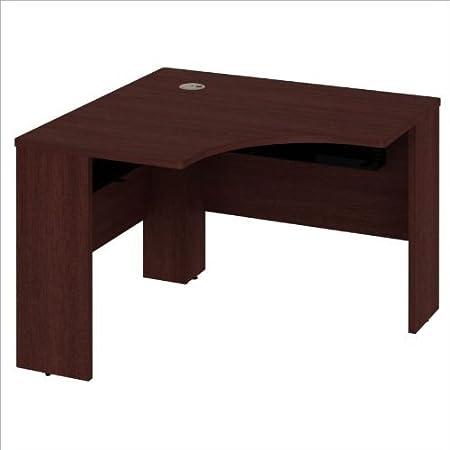 "Bush Quantum 42""W x 42""D Universal Corner Desk in Harvest Cherry"