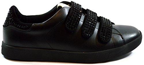 Liu Jo Sneaker Donna Running Aura Con Velcri Strass Pelle,37