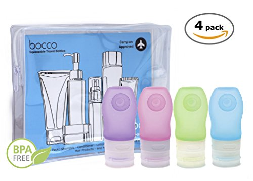 SALE: Leak Proof Travel Bottles, Squeezable and