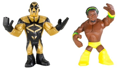 WWE Rumblers Golddust And Kofi Kingston Figure 2-Packs (Golddust Action Figure compare prices)