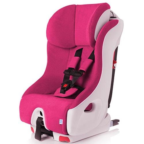Clek Foonf 2014 Convertible Car Seat, Pink/White Snowberry front-17818