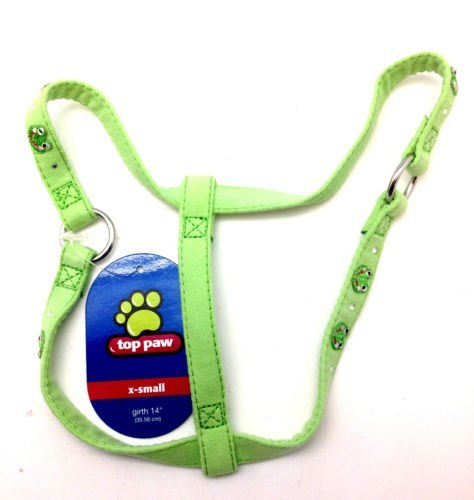 TOP PAW Green DOG Step in Harness 14