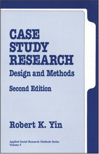 case study research yin 1994
