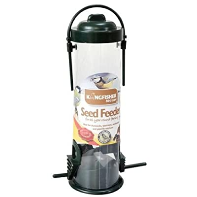 "KingFisher BF028 ""Green Standard"" Bird Seed Feeder"