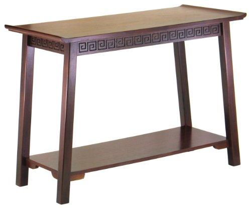 Cheap Antique Walnut Console Table with Shelf – Chinois (B0048AMQFU)