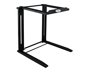 ProX Cases T-LPS400B Pro DJ Foldable Road Gig Ready Computer Table Laptop Stand