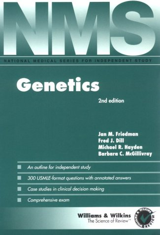 Genetics (National Medical Series for Independent Study)