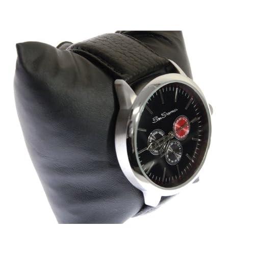 Ben Sherman ベンシャーマン 腕時計 ネイビー クロノグラフ アナログ 本革 レザーベルト ウォッチ r726
