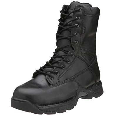"Danner Men's Striker Side Zip II GTX 8"" NMT Boots,Black,8 2E US"