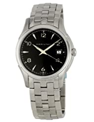 Hamilton Men's H32411135 Jazzmaster Black Dial Watch