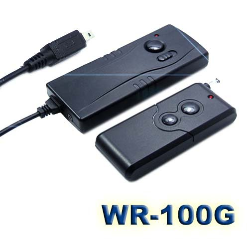 Gsi Super Quality Professional Rf Wireless Shutter Release Kit, Up To 300 Feet Distance - Fits Nikon D70S, D80 Cameras, Compatible With The Nikon Mc-Dc1