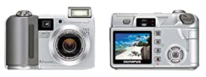 Olympus Camedia C5500 5.1MP Digital Camera with 5x Optical Zoom