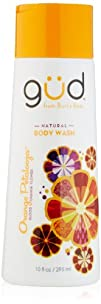 Gud Orange Petalooza Natural Body Wash 10 Fluid Ounce