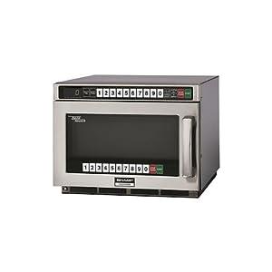 Sharp Heavy Duty Twin Touch Commercial Microwave - 1800 Watt
