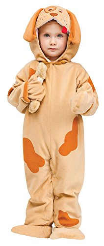 Fun World Costumes Baby's Playful Puppy Toddler Costume, Tan, Small
