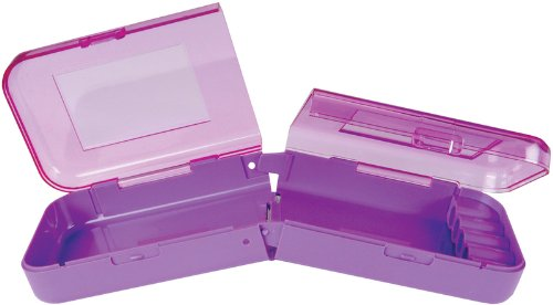 Wrights 882141 Cutter Cubby Plastic Carry Case, Purple