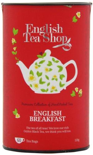 English Tea Shop English Breakfast 60 Tagged Tea Bags (Pack of 2)