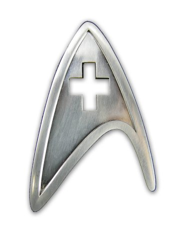 Quantum Mechanix Star Trek Medical Insignia Badge - 1