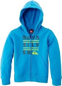Quiksilver K9 MSP Sweat à capuche zippé garçon Brillant Blue FR : 14 ans (Taille Fabricant : T14)