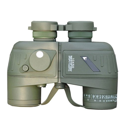 7X50 Uper Texture Hd Wide--Angle Central Telescope Binoculars(Army Green)