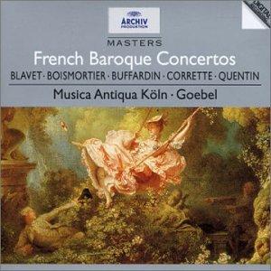 Les Concertos baroques français : Blavet, Boismortier, Buffardin, Corrette, Quentin