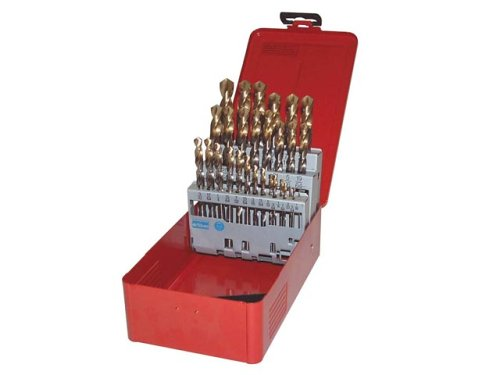 Dormer A095 No.204 Hss Drill Set 25p Metal Case