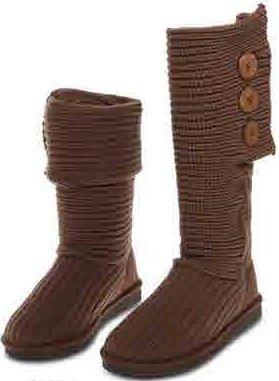 womens rib knit sweater crochet boots 6