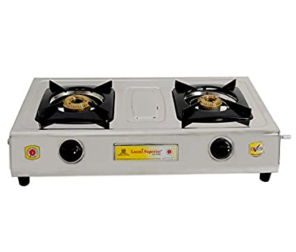 kia Model Steel Gas Cooktop (2 Burner)