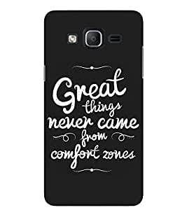 Evaluze life quote Printed Back Cover for SAMSUNG GALAXY ON5 2015