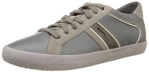 Geox U Smart E, Sneaker, Uomo, Grigio (Grey), 43