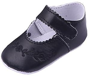 La vogue Merceditas Prewalker Shoes Zapatillas Para Bebé Niñas Velcro