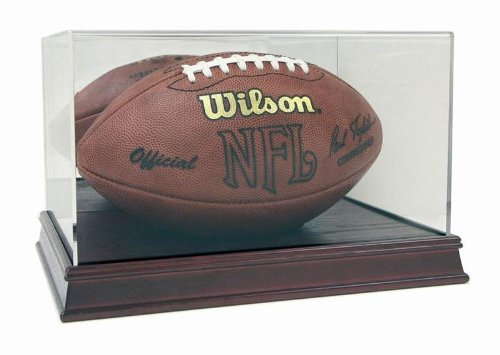 deluxe-acrylic-full-size-football-display-case-with-cherry-wood-stain-base