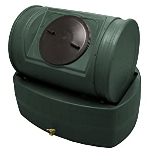 Good Ideas EZWH-GRN 47-Gallon Wizard Hybrid Compost Bin, Green